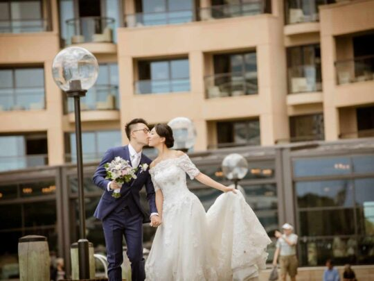 Wedding Videographer Lovett Bay